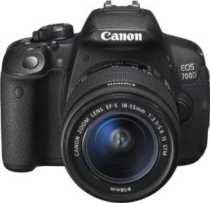 Canon EOS 700D SLR-Digitalkamera 3 Zoll Kit inkl. EF-S (Affiliate)