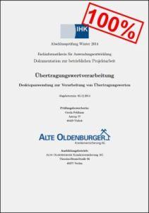 Projektdokumentation von Gerda Feldhaus (mit 100% bewertet)