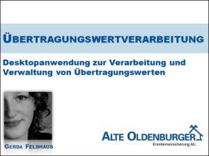 Deckblatt Projektpräsentation Gerda Feldhaus