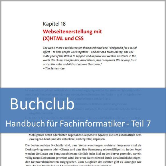 Buchclub Handbuch für Fachinformatiker - Teil 7