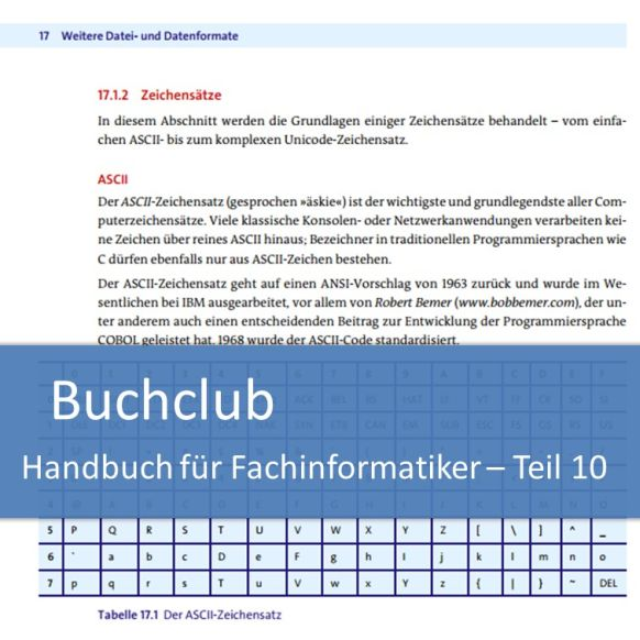 Buchclub Handbuch für Fachinformatiker Teil 10: Dateiformate und Sicherheit