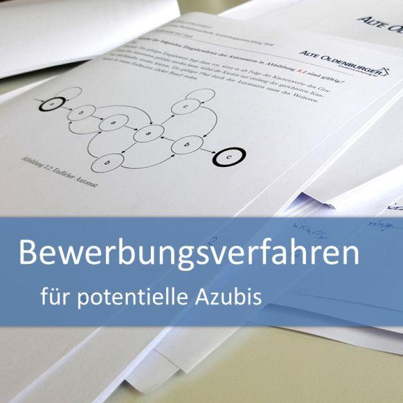 Ablauf des Bewerbungsverfahrens für potentielle Azubis
