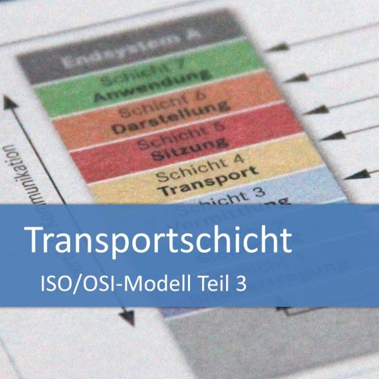 ISO/OSI-Modell: Transportschicht