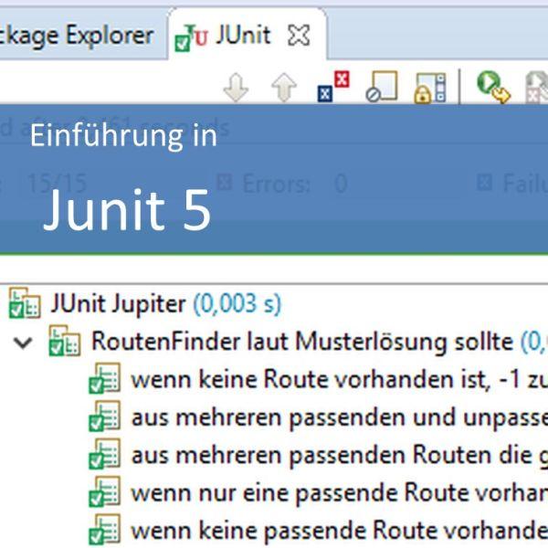 Einführung in JUnit 5