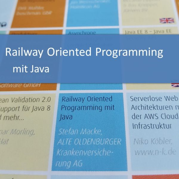 Railway Oriented Programming mit Java