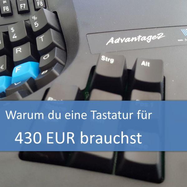 Warum du eine Tastatur für 430 Euro brauchst