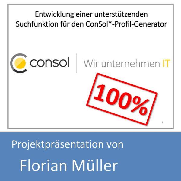 Projektpräsentation von Florian Müller