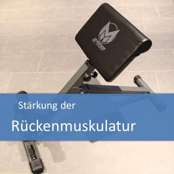 Stärkung der Rückenmuskulatur