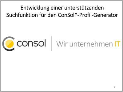 Projektpräsentation Von Florian Müller Mit 100 Bewertet
