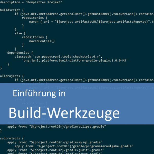 Einführung in Build-Werkzeuge