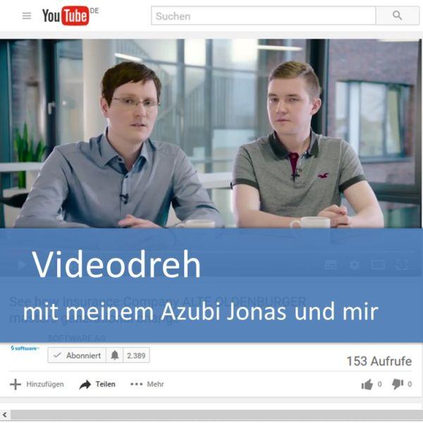 Videodreh zur Agenda 2050 der Software AG