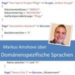 Markus Amshove - Domänenspezifische Sprachen