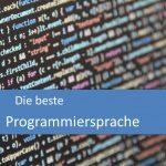 Die beste Programmiersprache