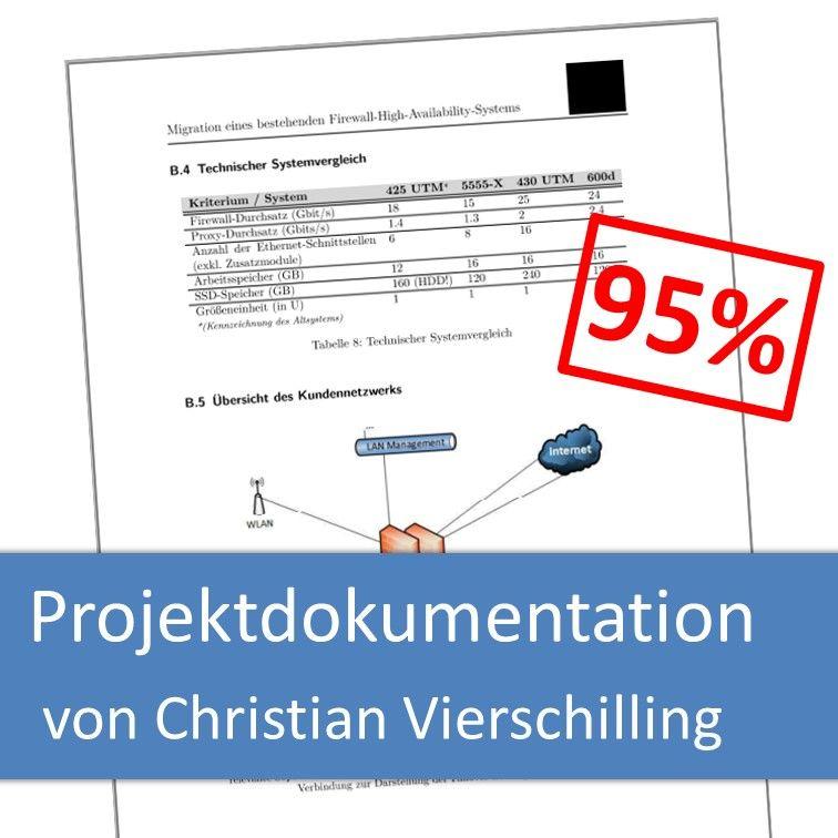 Projektdokumentation von ChristianVierschilling (mit 95% bewertet)