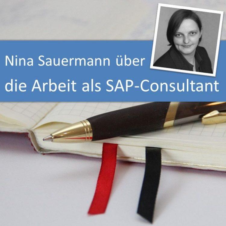 Nina Sauermann über die Arbeit als SAP-Consultant