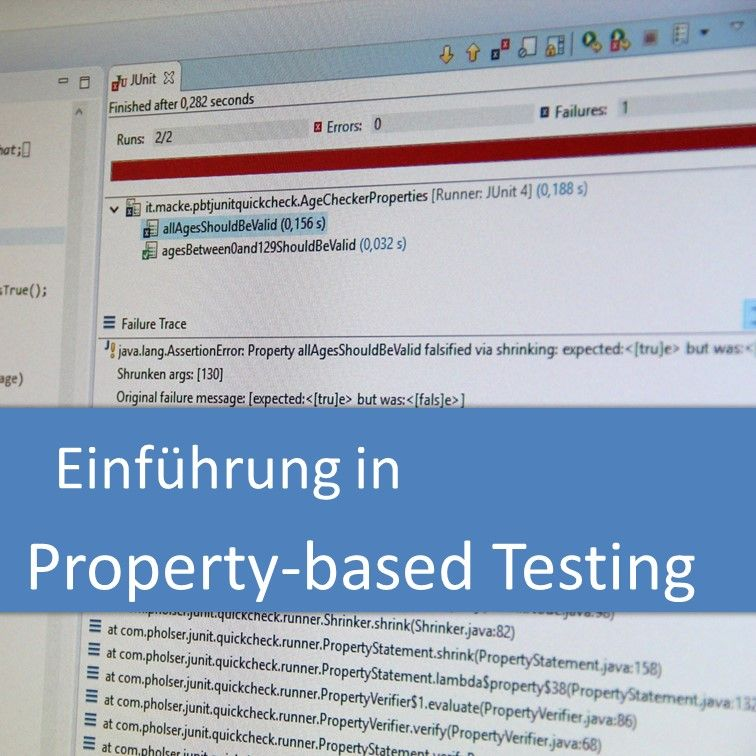 Einführung in Property-based Testing