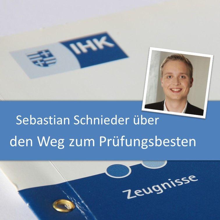 Sebastian Schnieders Weg zum Prüfungsbesten Fachinformatiker Anwendungsentwicklung