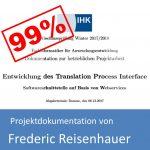 Projektdokumentation Fachinformatiker Anwendungsentwicklung 2017 von Frederic Reisenhauer