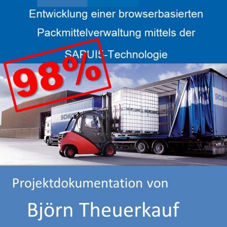 Projektdokumentation Fachinformatiker Anwendungsentwicklung Sommer 2018 Björn Theuerkauf mit 98% bewertet