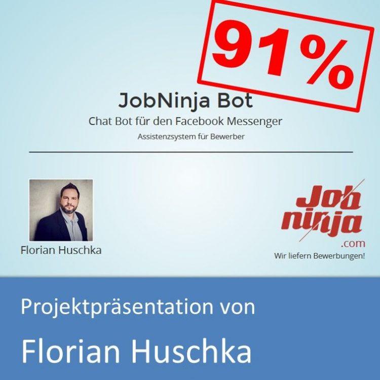 Projektpräsentation Fachinformatiker Anwendungsentwicklung 2018 Florian Huschka