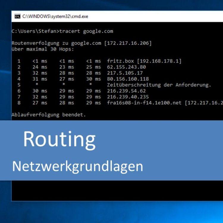 Routing (Netzwerkgrundlagen)