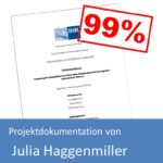 Projektdokumentation von Julia Haggenmiller (mit 99% bewertet)
