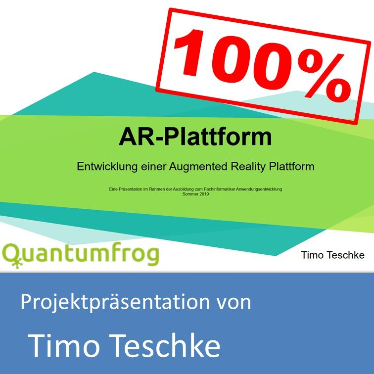 Projektpräsentation von Timo Teschke (mit 100% bewertet)