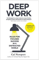 Deep Work: Rules for Focused Success in a Distracted World von Cal Newport bei Amazon (Affiliate)