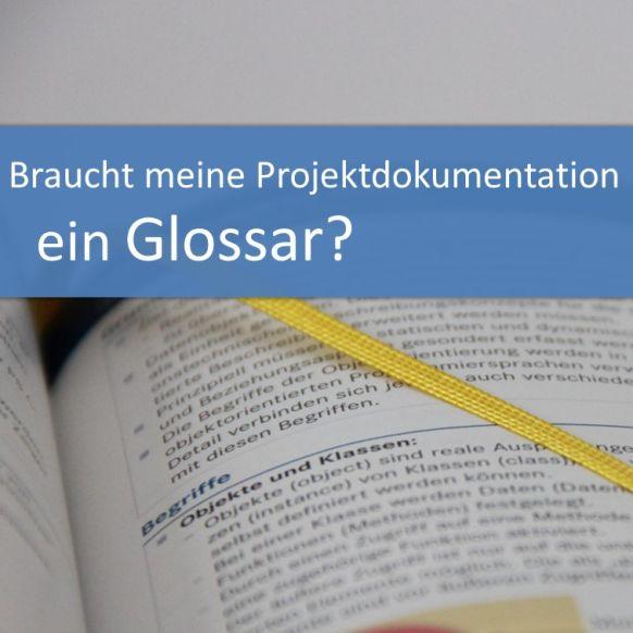 Glossar in der Projektdokumentation