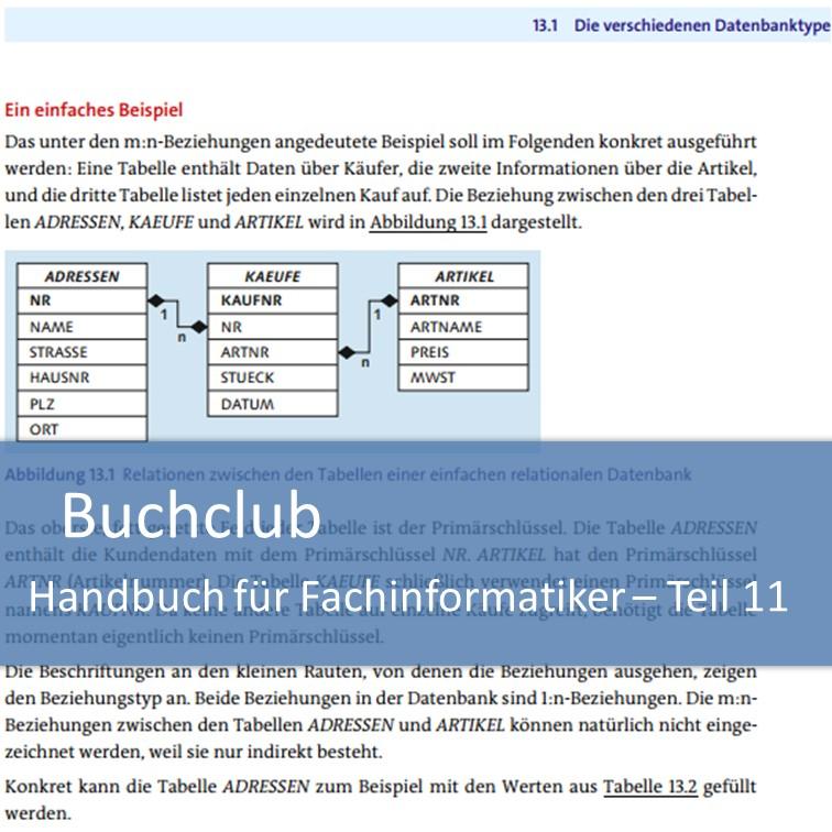 Buchclub Handbuch für Fachinformatiker - Teil 11: Datenbanken