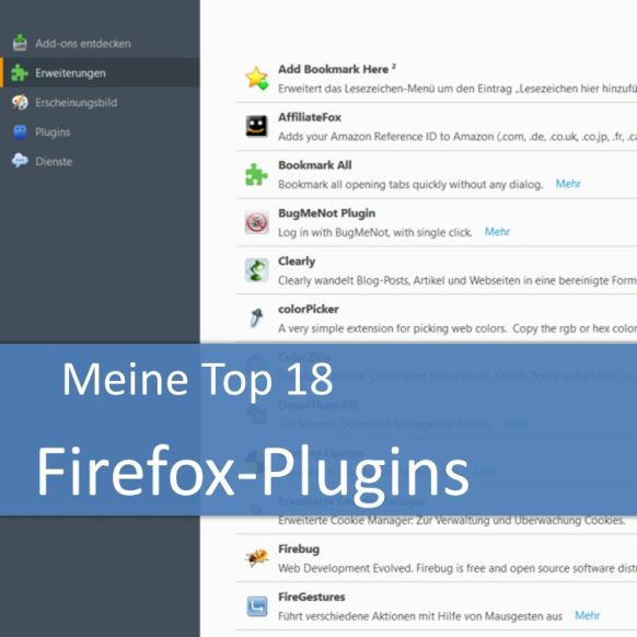 Firefox-Plugins