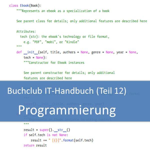 Buchclub IT-Handbuch Grundlagen der Programmierung