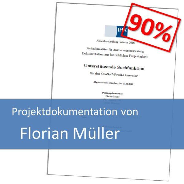 Projektdokumentation Florian Müller