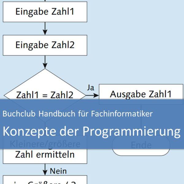 Buchclub Handbuch für Fachinformatiker: Konzepte der Programmierung