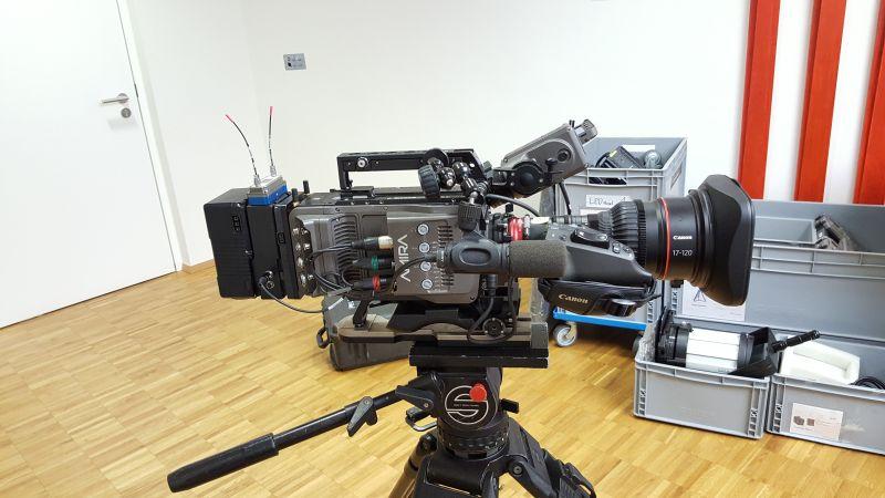 Videodreh Agenda 2050 Kamera 1