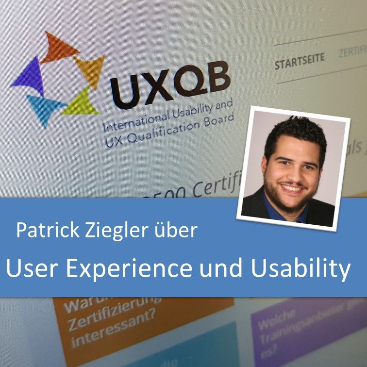 Patrick Ziegler über User Experience und Usability