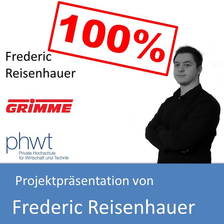 Projektpräsentation Fachinformatiker Anwendungsentwicklung 2017 von Frederic Reisenhauer