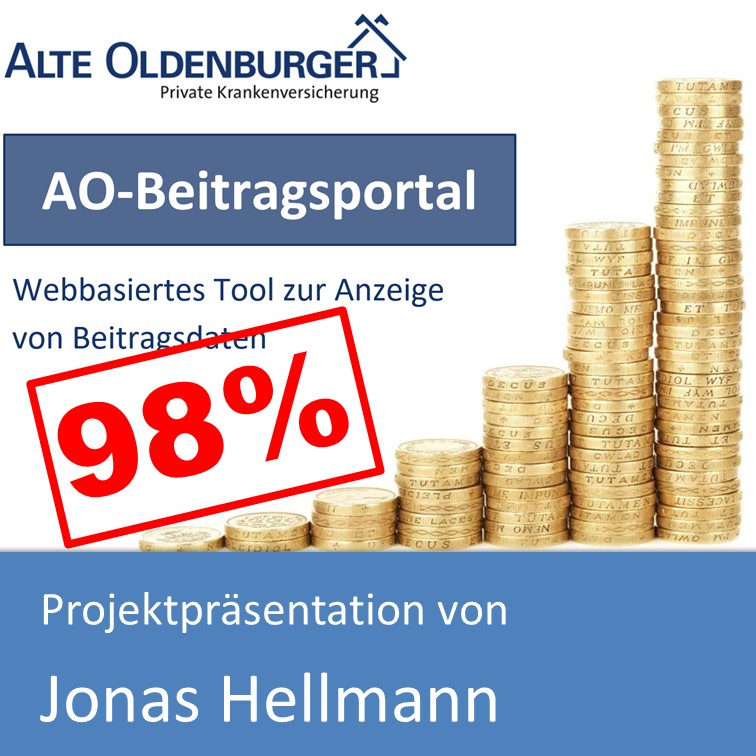 Projektpräsentation Fachinformatiker Anwendungsentwicklung 2017 von Jonas Hellmann