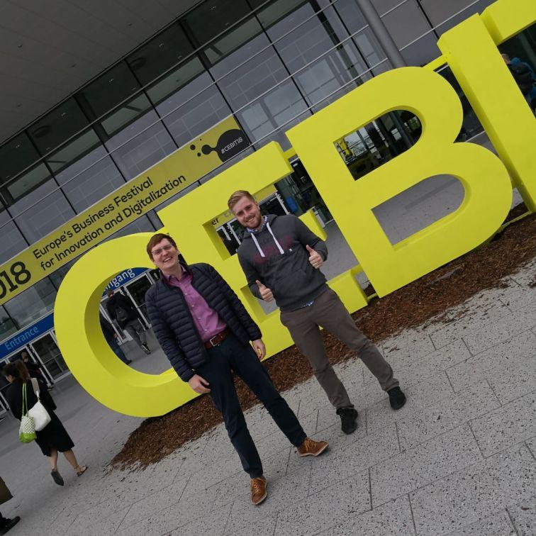 CEBIT 2018 - Die AOsbildung in Hannover