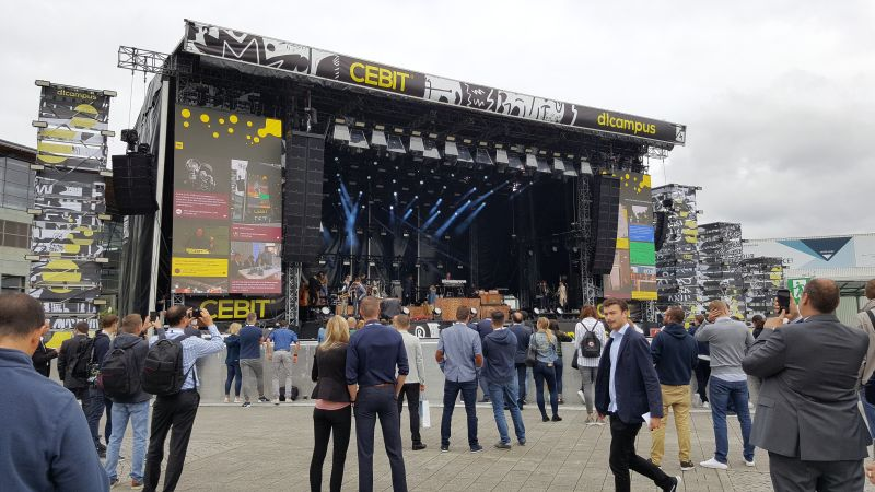 CEBIT 2018 - Festival Stage