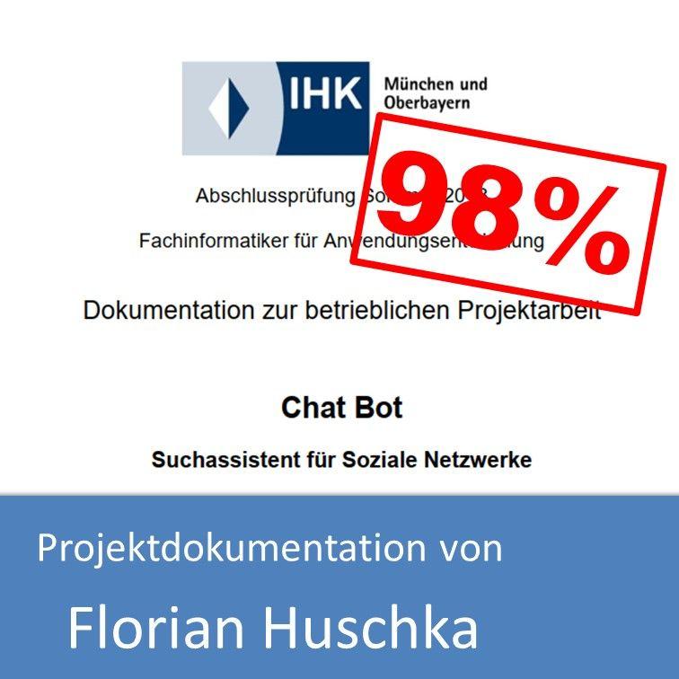 Projektdokumentation Fachinformatiker Anwendungsentwicklung 2018 Florian Huschka