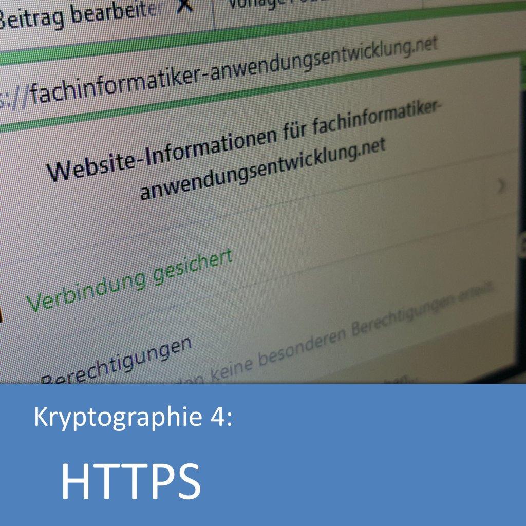 Kryptographie: Funktionsweise von HTTPS