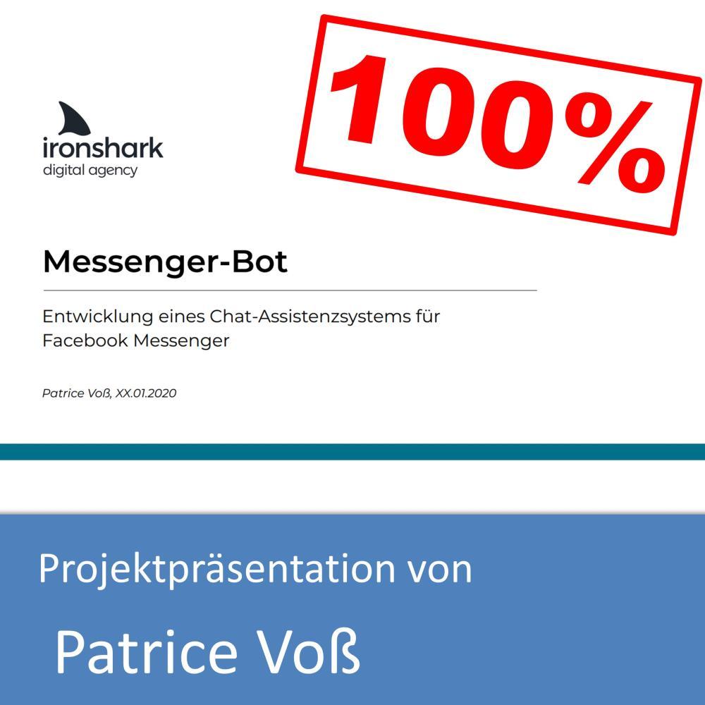 Projektpräsentation von Patrice Voß (mit 100% bewertet)