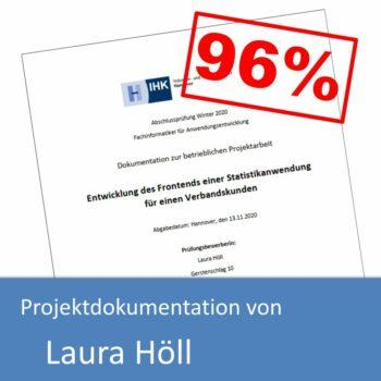 Projektdokumentation von Laura Höll (mit 96% bewertet)