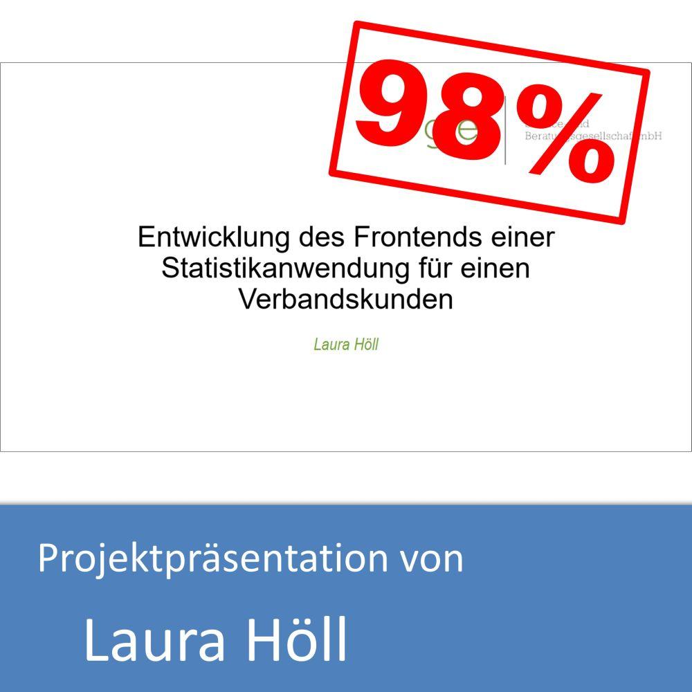 Projektpräsentation von Laura Höll (mit 98% bewertet)
