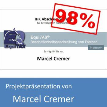 Projektpräsentation von Marcel Cremer (mit 98% bewertet)