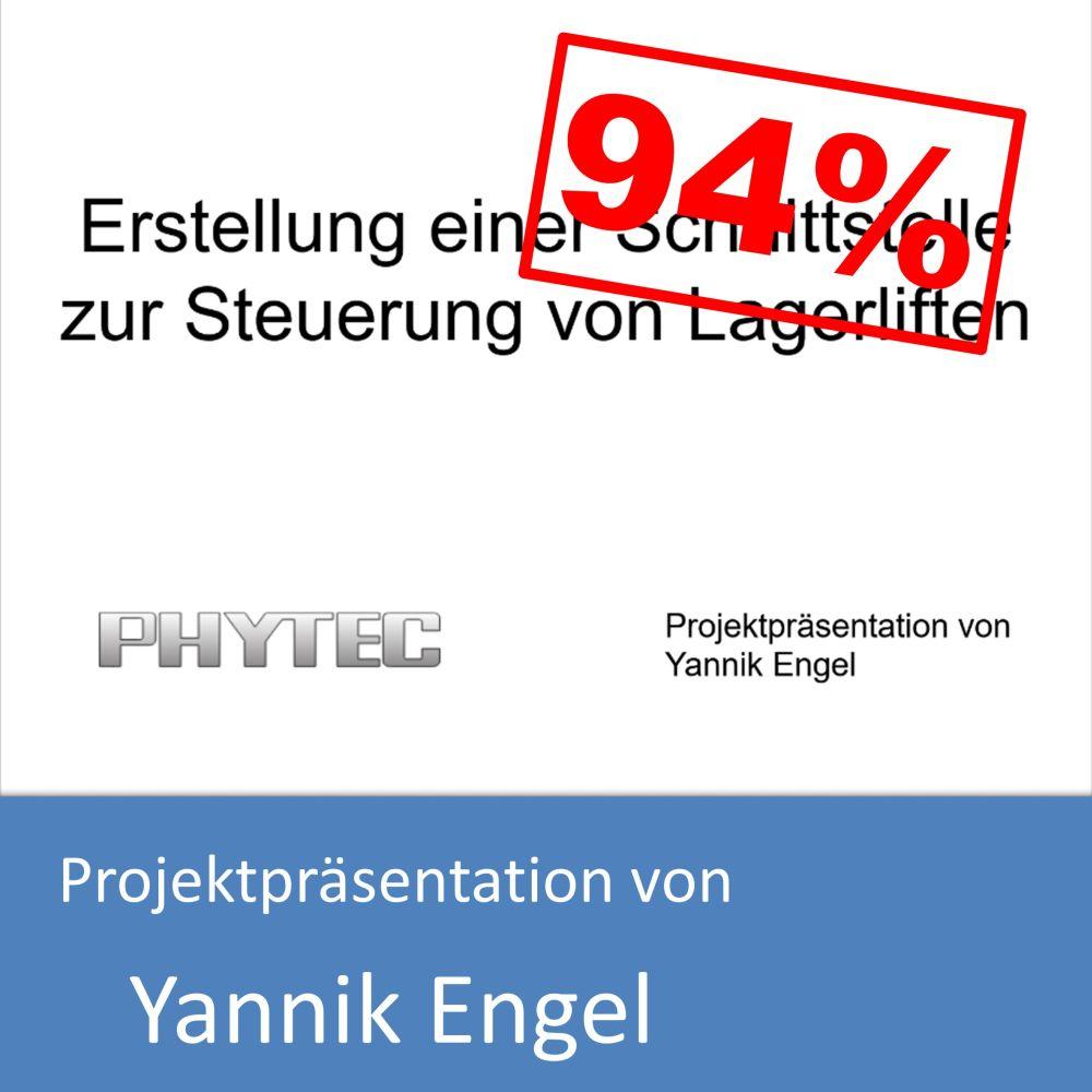 Projektpräsentation von Yannik Engel (mit 94% bewertet)